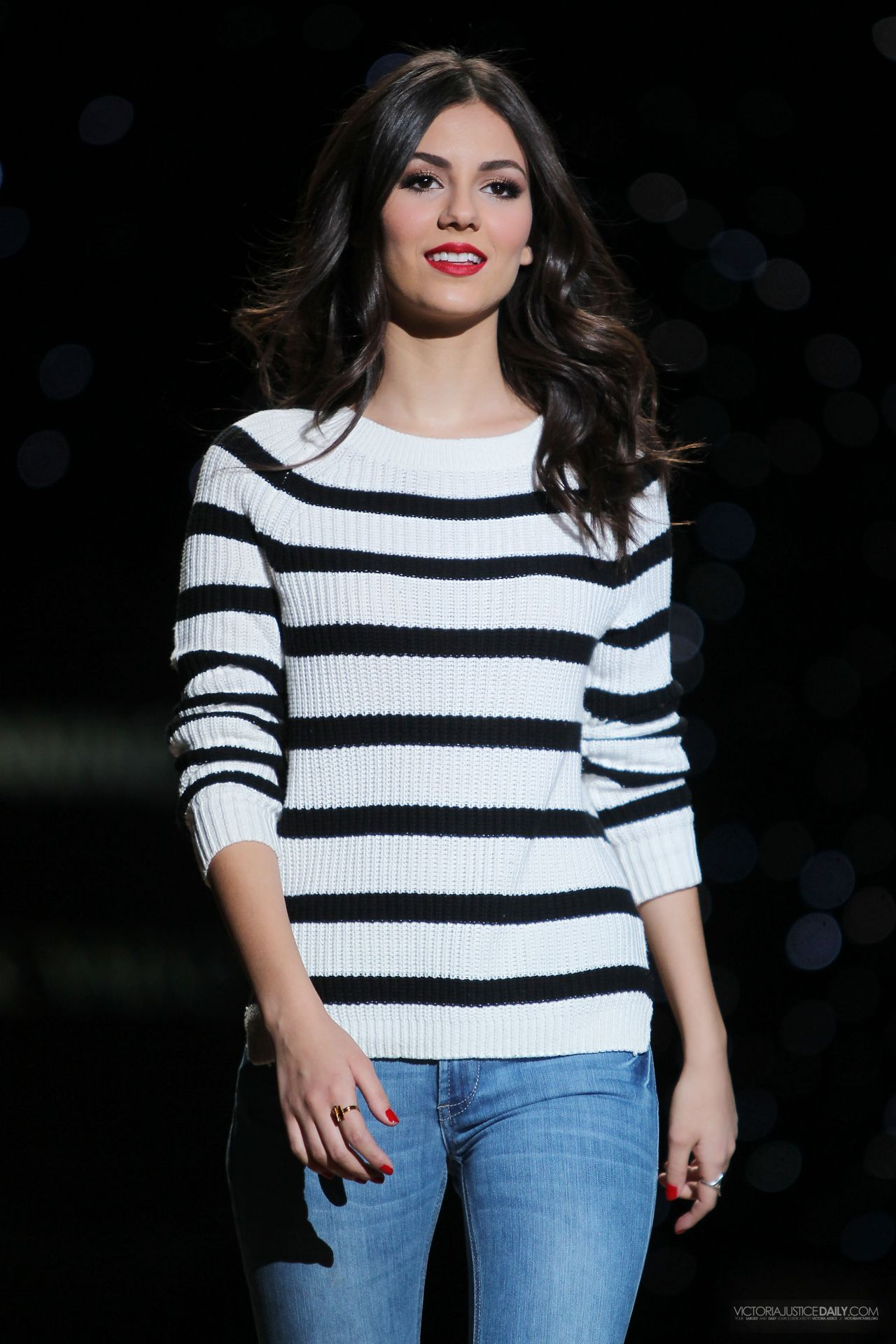 Victoria Justice - Heart Truth Red Dress Show Rehearsal - February 2014