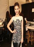 Victoria Justice - Mara Hoffman Fashion Show in New York, February 2014