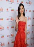 Victoria Justice - Red Dress Collection Fashion Show in New York - February 2014