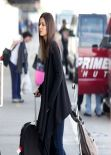 Victoria Justice Street Style - LAX Airport, February 2014