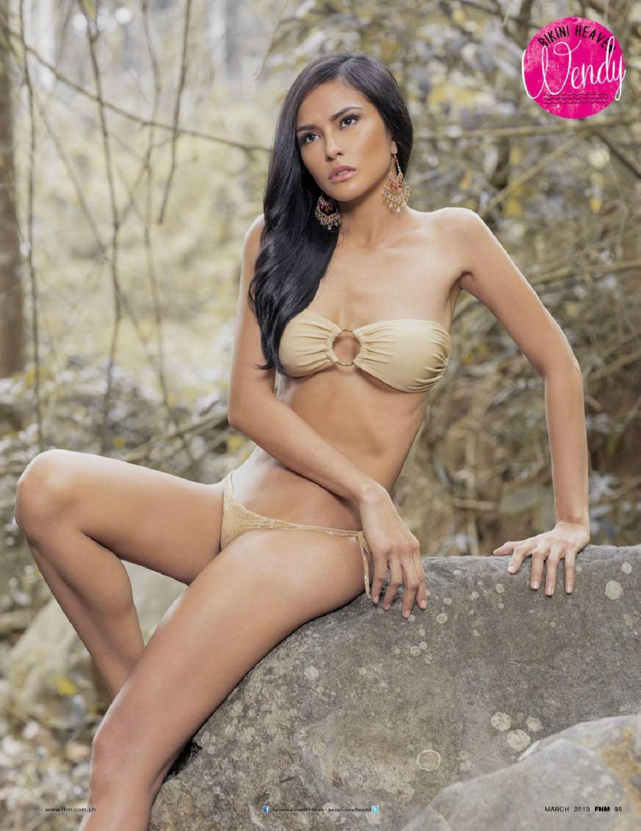 Wendy Valdez - FHM Magazine (Philippines) March 2013 Issue