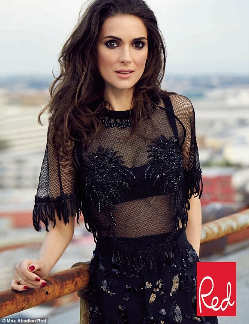 Winona Ryder - Red Magazine - April 2014 Issue
