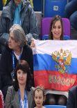 Yelena Isinbayeva in Sochi,  February 2014
