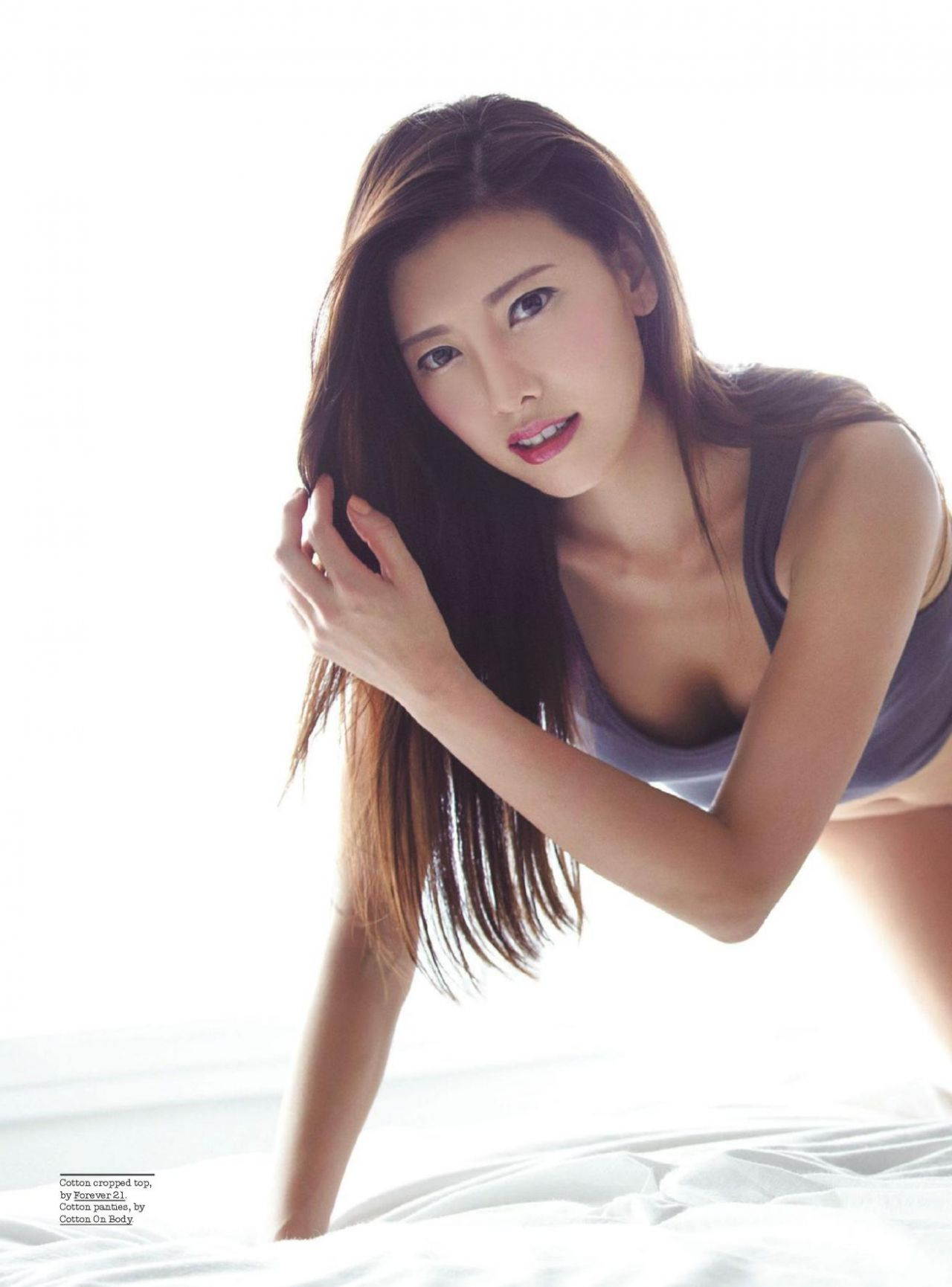 Yunji – FHM Magazine (Singapore) – February 2014 Issue