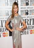 Zoe Hardman - The BRIT Awards 2014 at the 02 Arena in London