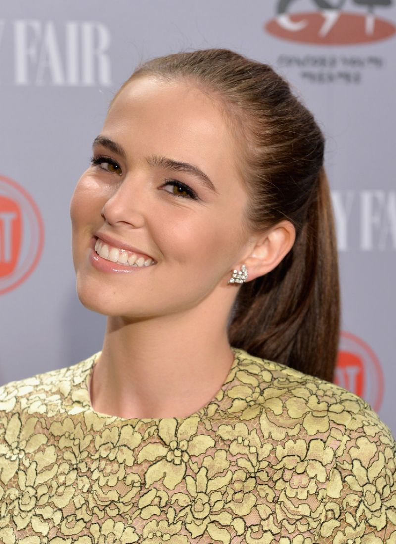 Zoey Deutch - Vanity Fair & FIAT Young Hollywood Event in LA, February 2014