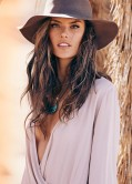 Alessandra Ambrosio Debuts ále by Alessandra Lifestyle Brand - March 2014