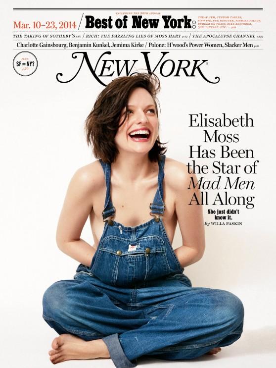 Elisabeth Moss - New York Magazine - March 10, 2014 Issue