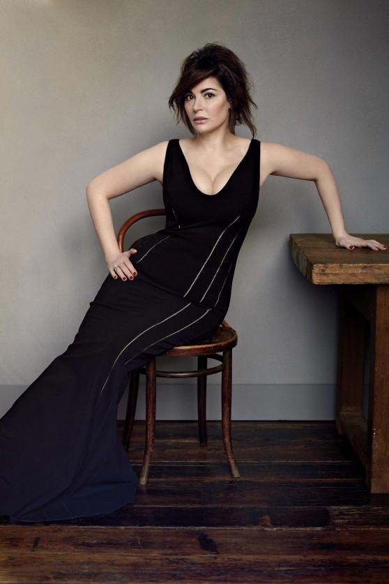 Nigella Lawson - Vogue Magazine (UK) - April 2014 Issue