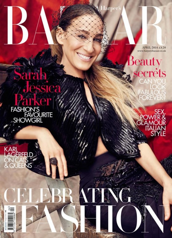 Sarah Jessica Parker - Harper's Bazaar's Magazine - April 2014 Issue