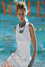 Abbey Lee Kershaw - Vogue Magazine (Australia) April 2014 Cover