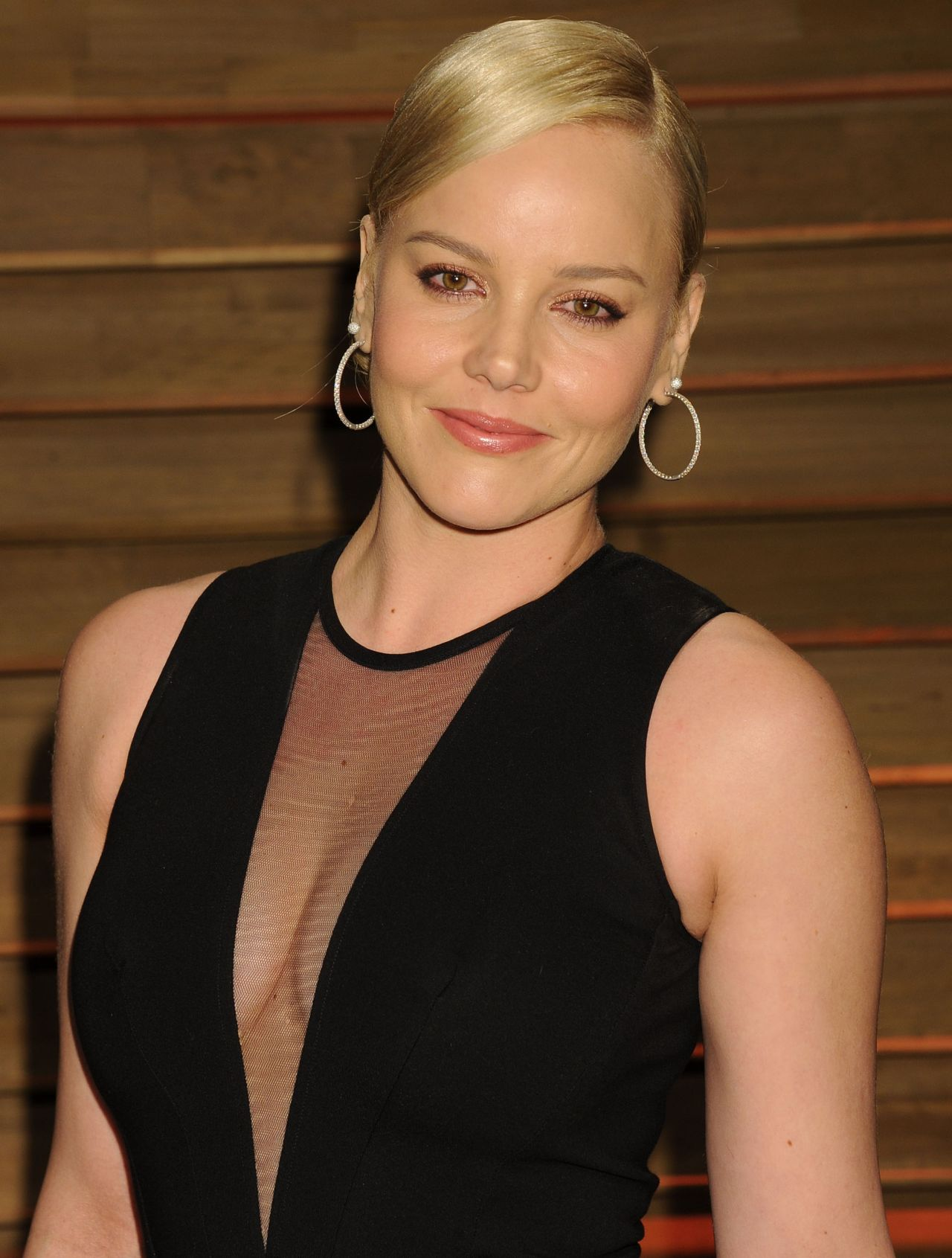 Abbie Cornish at 2014 Vanity Fair Oscars Party in West Hollywood
