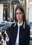 Adèle Exarchopoulos in Paris - Miu Miu F/W Fashion Show, March 2014