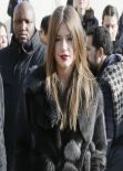 Adele Exarchopoulos in Paris - Louis Vuitton F/W Fashion Show - March 2014