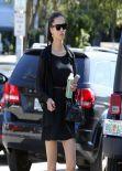 Adriana Lima in Mini Dress - Out in Miami - March 2014