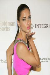 Adriana Lima Wearing Gabriela Cadena Gown – BrazilFoundation Gala 2014 in Miami