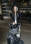 Alessandra Ambrosio at LAX Airport, March 2014