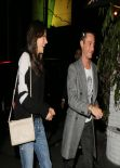 Alessandra Ambrosio Night Out Style - Leaving Chateau Marmont in Los Angeles