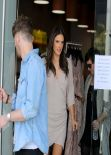 Alessandra Ambrosio - Sips a Cool Drink at Planet Blue - Beverly Hills, March 2014