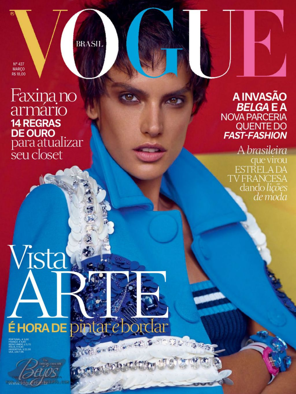 Vogue The Top Selling Fashion Magazine: Vogue Magazine (Brasil)