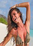 Alessia Reato and Alessia Ventura in Bikini - Backstage Photoshoot - Maldives, March 2014