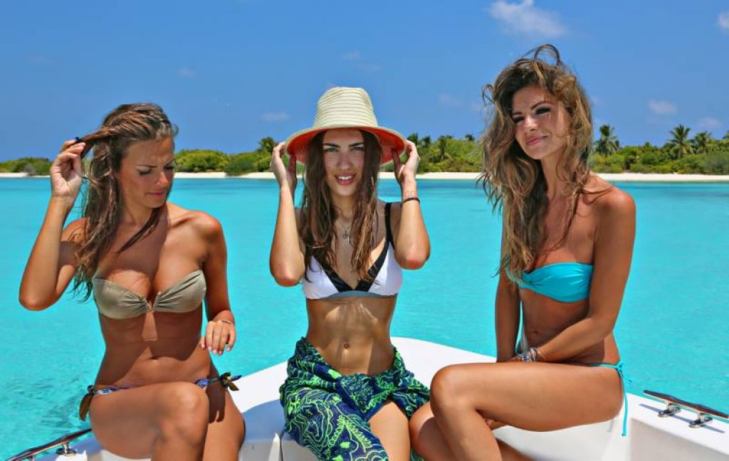 Alessia Reato and Alessia Ventura in Bikini – Maldives, March 2014 (Part 2)