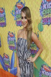 Alexa Vega in Tart White and Navy Printed Jumpsuit - Kids
