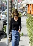 Ali Larter Street Style - Out in Beverly Hills, March 2014