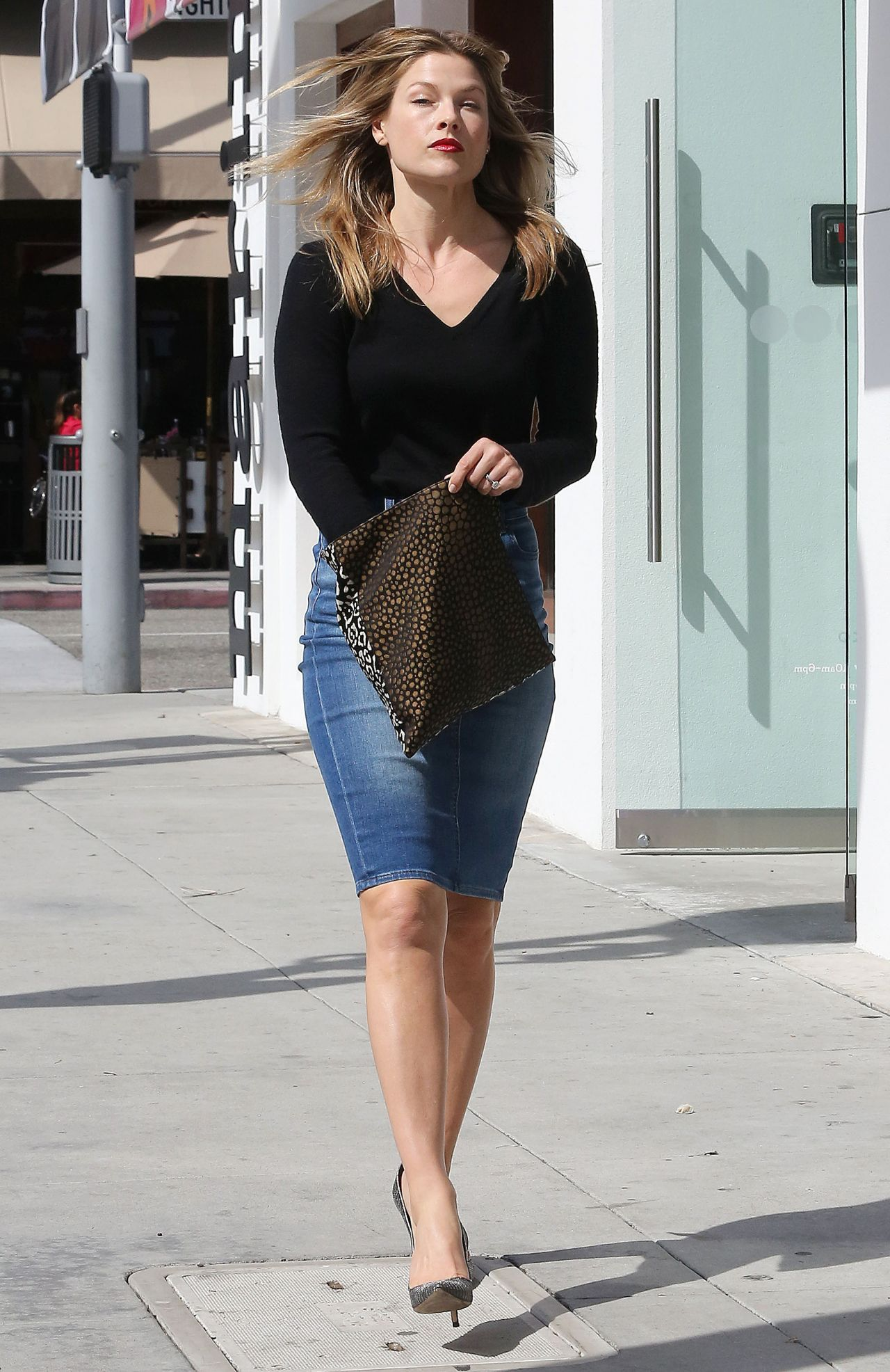 Ali Larter Street Style – Out in Beverly Hills, March 2014