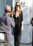 Ali Larter Street Style - Out Shopping in Beverly HIlls - March 2014