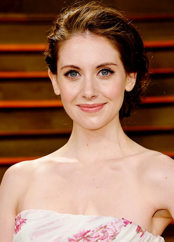 Alison Brie - 2014 Vanity Fair Oscars Party