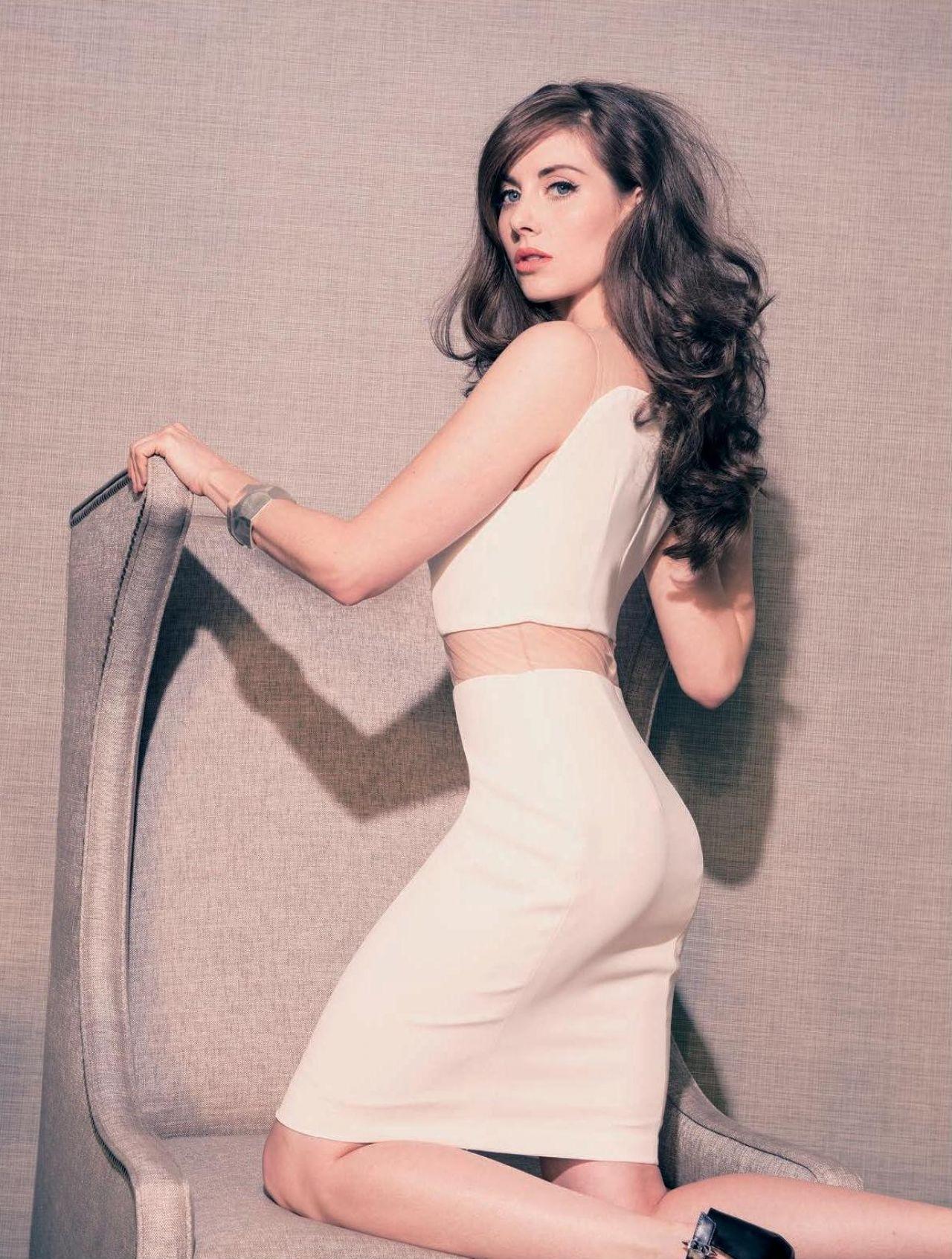 Alison Brie - Rhapsody Magazine - March 2014 Issue