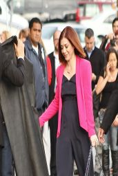 Alyson Hannigan - Jimmy Kimmel Live! in Los Angeles, March 2014