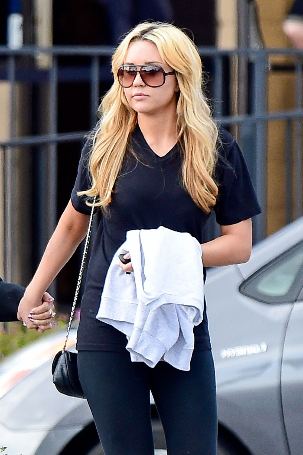 Amanda Bynes Casual Style At The Regency Theatre In Los