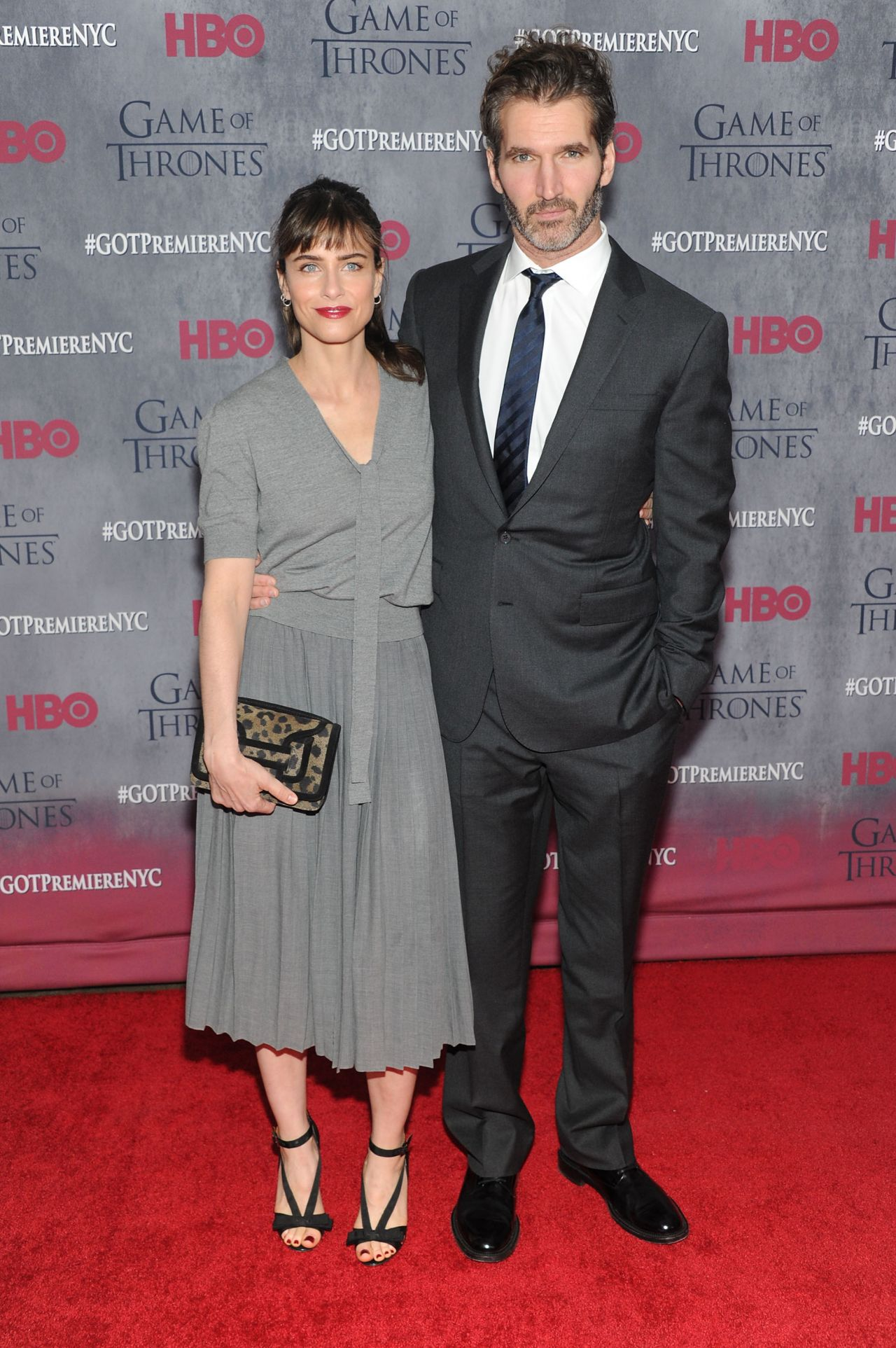 Amanda Peet - 'Game of Thrones' Season 4 Premiere in New ...