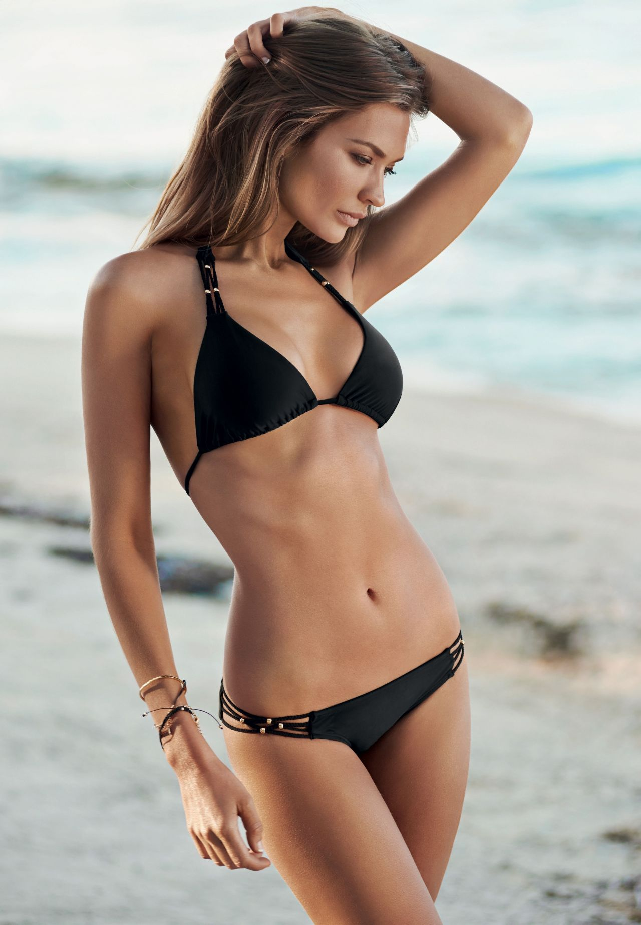 Amber Arbucci Photoshoot for Pily Q Resort Swimwear 2014 бар рафаэли