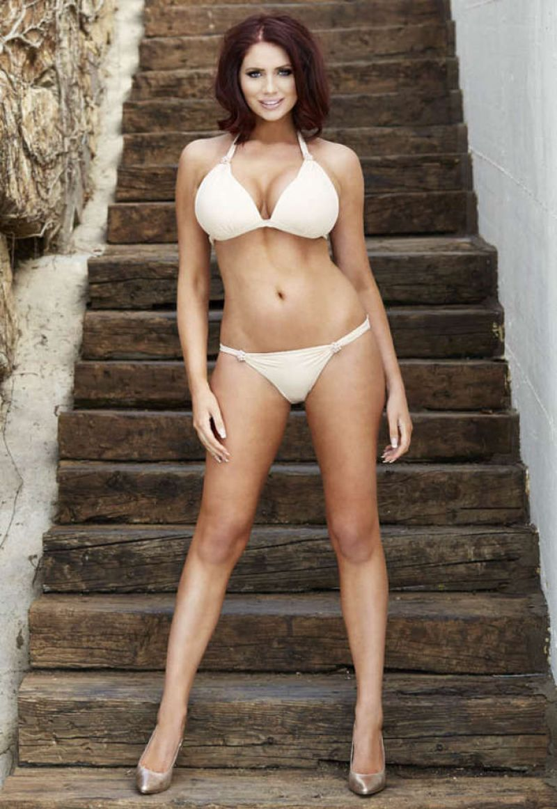 Amy Childs Bikini Photoshoot