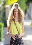 Amy Willerton in Los Angeles, March 2014