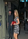 Amy Willerton Night Out Style - Arriving to Crossroads in West Hollywood