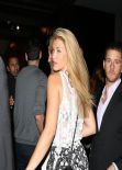 Amy Willerton Night out Style - Leaving the Crossroads Restaurant in Los Angeles