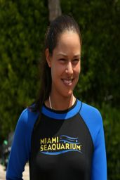 Ana Ivanovic - Miami Seaquarium - March 2014