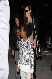 Angelina Jolie and Her Kids at LAX Airport in Los Angeles - March 2014