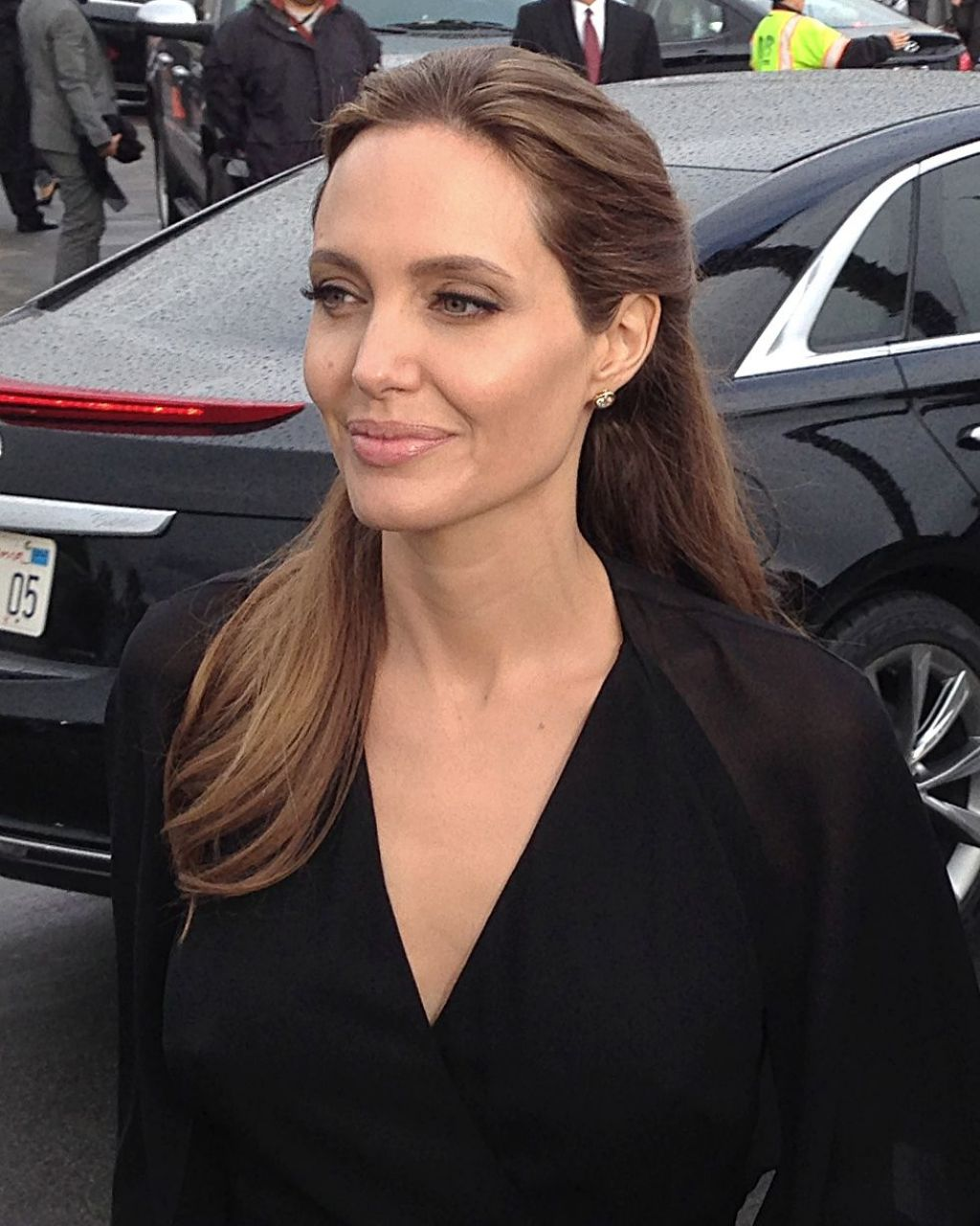 Angelina Jolie - Arriving at the 2014 Independent Spirit Awards