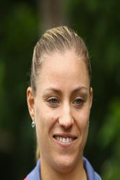 Angelique Kerber - Media Day - Miami Masters 2014