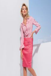 Anja Rubik - Peter Hahn Spring/Summer 2014 Collection Photos