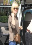 Anna Faris Casual Street Style - out in West Hollywood, March 2014
