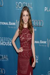 Anna Kendrick in J Mendel Dress – Geffen Playhouse's Annual 'Backstage At The Geffen' Gala (2014)