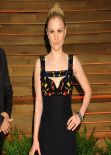 Anna Paquin in Alexander McQueen Gown - 2014 Vanity Fair Oscars Party in West Hollywood