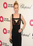 Anna Paquin Wearing Alexander McQueen Gown - 2014 Elton John Oscar Party