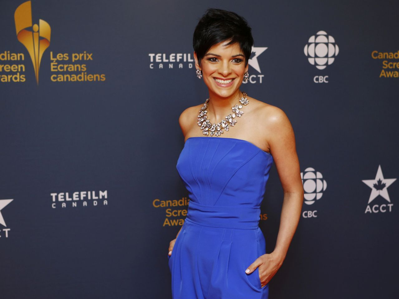 Anne-Marie Mediwake - 2014 Canadian Screen Awards